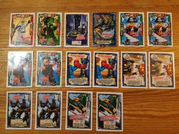 KARTY LEGO NINJAGO serii I, II, III, IV, V sprzedam lub zamienię