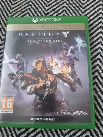 Gra na konsole Xbox one Destiny z dodatkiem the taken king
