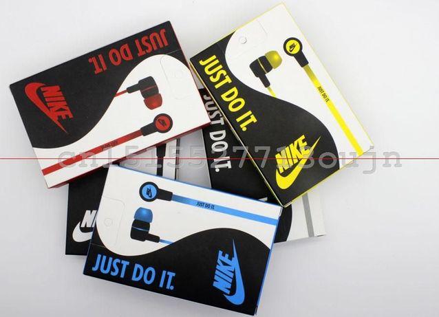 Słuchawki przewodowe Nike różne kolory