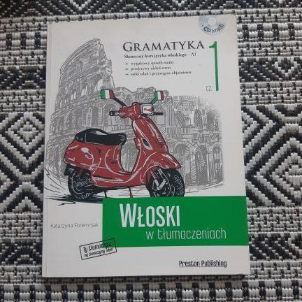 Włoski w tłumaczeniach 1 + płytka CD (jak nowa)