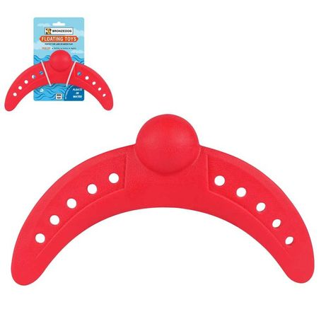 Игрушка для собак BRONZEDOG FLOAT плавающая бумеранг 26 Х 13 СМ