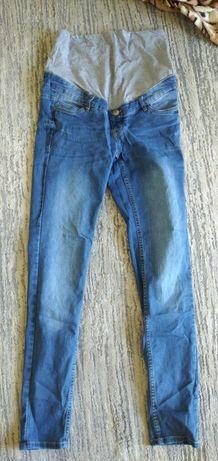 Spodnie jeansy ciążowe esmara 38