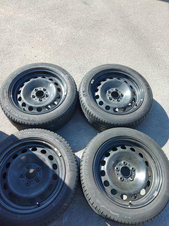 R 17 5*120 стальные диски BMW с летней резиной 225/50/17 Michelin