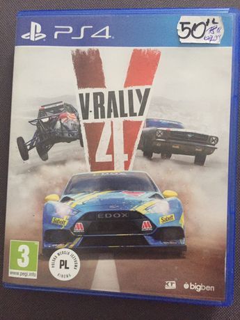 Wyscigowa gra V-rally 4 ps4 *SUPER CENA*