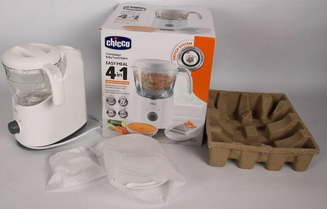 urządzenie do posiłków niemowląt na parze blender Chicco Easy meal