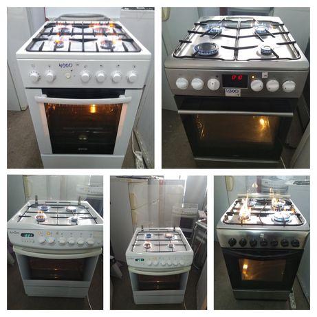 Кухонные плиты газ/электро/комбинация/керамика/индукция. Новый завоз