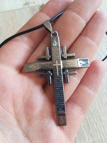 Krzyż krzyżyk naszyjnik