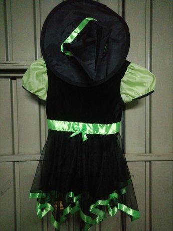 Vestido bruxinha 5 anos