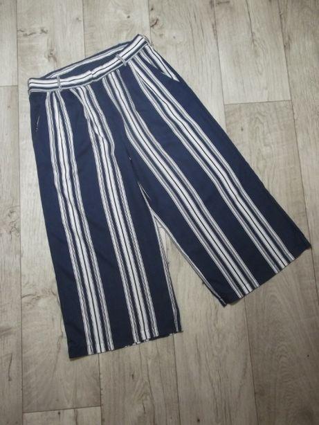 Летние кюлоты в полоску, брюки в полоску VILA CLOTHES, р.S-M