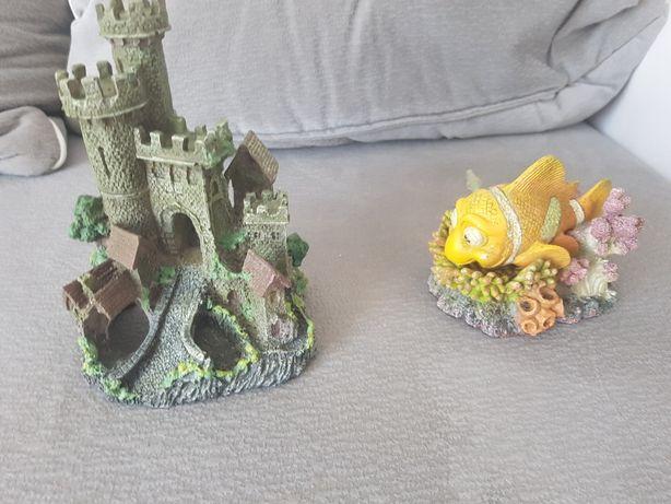 Zamek akwarystyczny oraz Nemo napowietrzajace