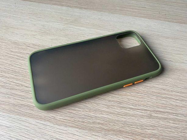 Case etui iPhone 11 półprzezroczyste matowe pokrowiec / wysyłka