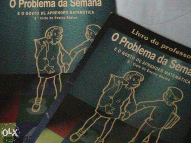 """Livros """"O Problema da Semana"""""""