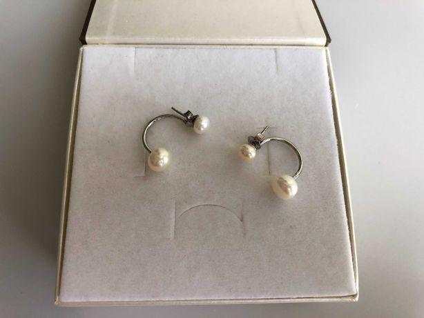 APART srebrne kolczyki z perełkami 925