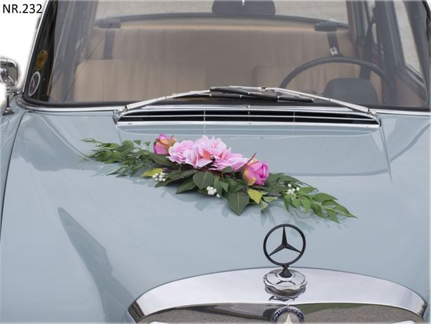 Śliczna dekoracja na samochód-ELEGANCKA-ozdoba-stroik-POLECAMY
