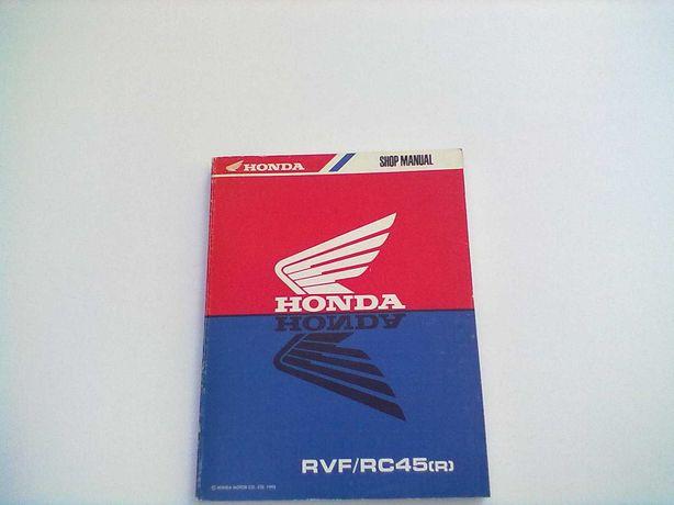 Manual Técnico Oficial Honda RVF-RC 45(R)