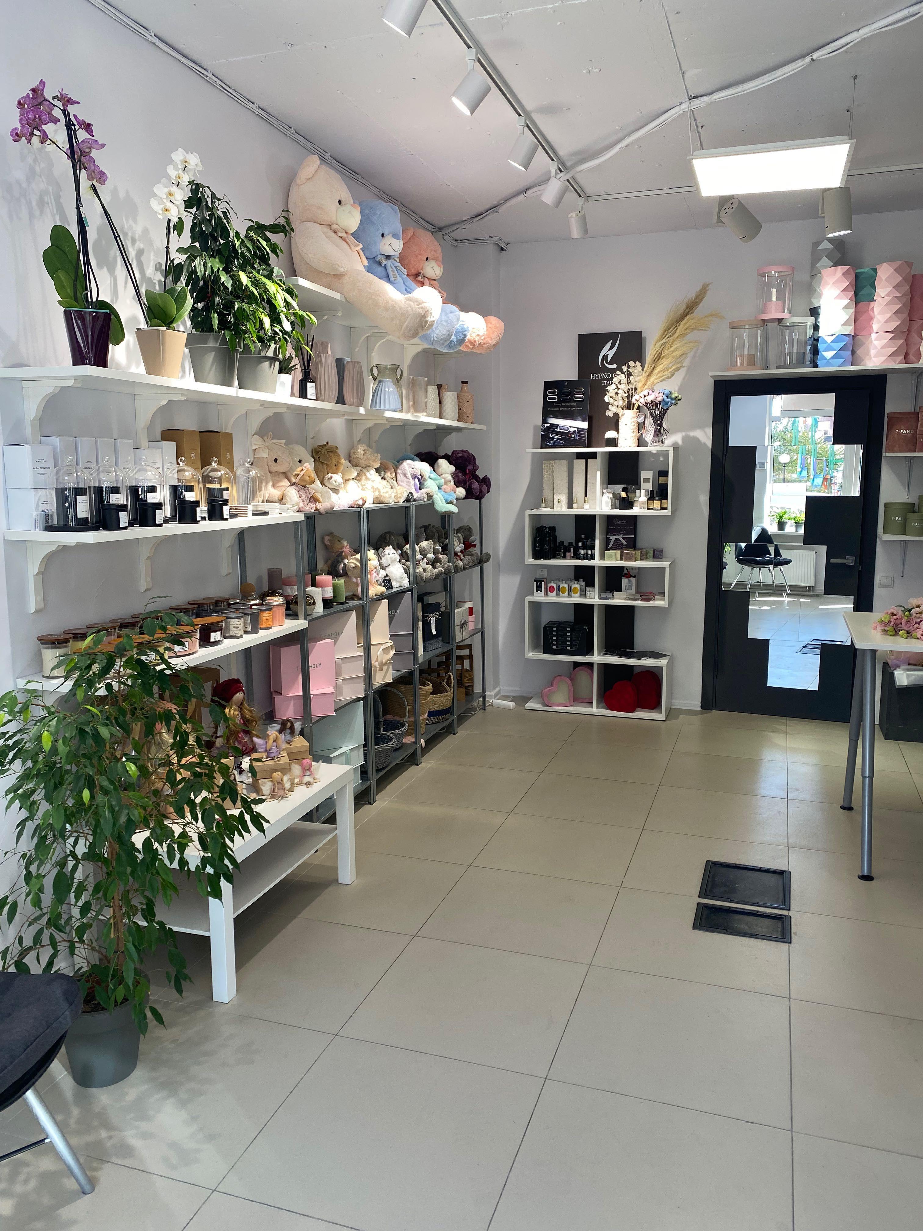 Продажа цветочного магазина