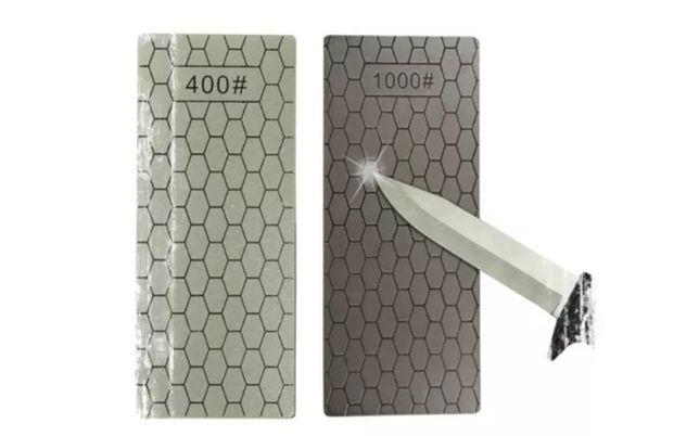 Точилка для ножа (алмазная). Заточной алмазный камень