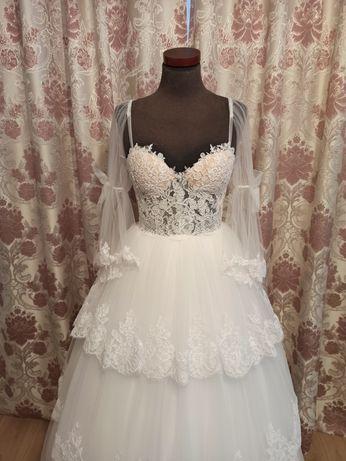 Suknia ślubna ADALINE barokowa księżniczka Rosalie 36 38