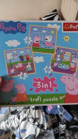 Trefl Puzzle 3 w 1 Peppa Pig