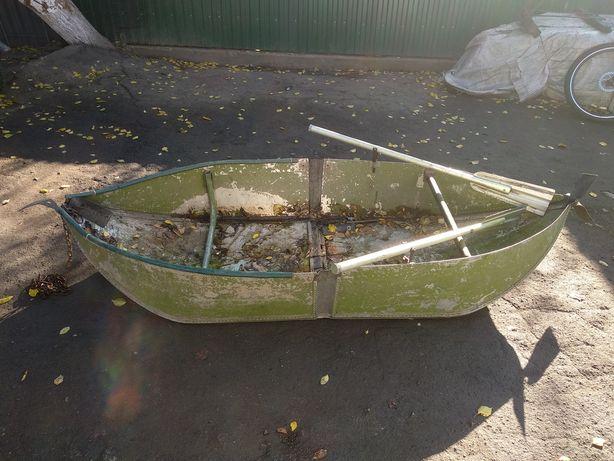 Лодка складная алюминиева
