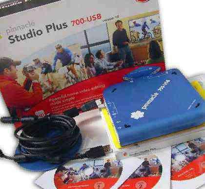 Pinnacle Studio Plus 700-USB (плата для оцифровки видеокассет)
