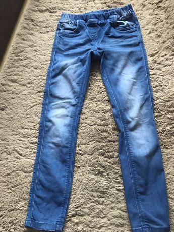 Spodnie jeansy dla dziewczynki 128 cool club