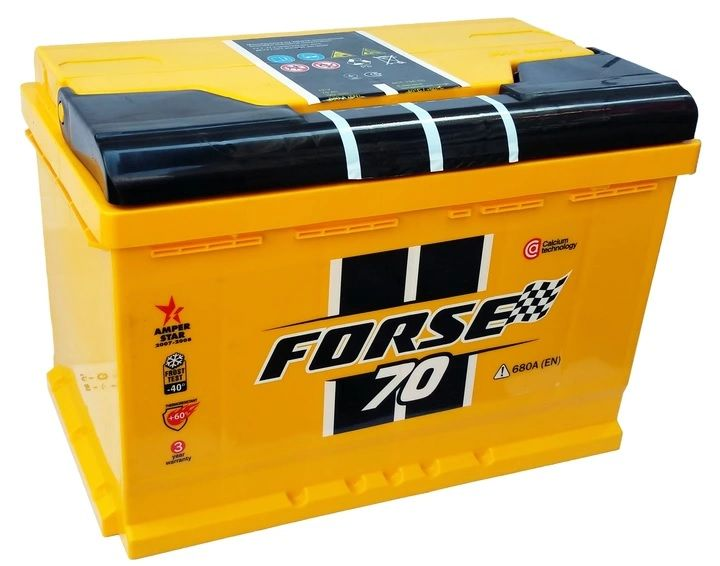Akumulator WESTA Forse 70Ah 680A Kielce Kielce - image 1