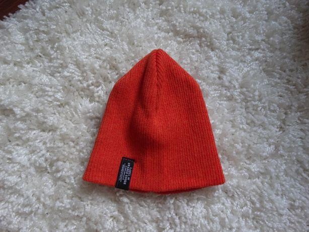 Шапка оранжевая H&M малышу на обхват головы 48-50 cм