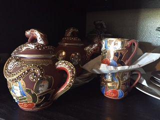 Serviço café 6 porcelana marca chinês