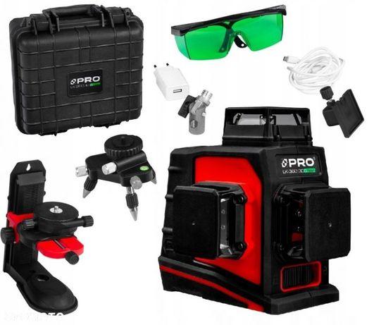 PRO LK-360.3DG GREEN Laser Krzyżowy Płaszczyznowy