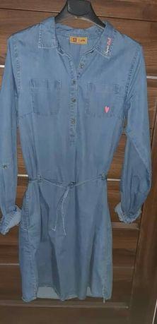 jeansowa sukienka cool club