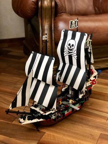 Lego System Pirates 6286 Пиратский корабль Черный Череп