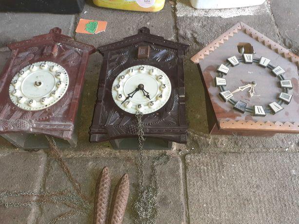 Zegary scienne kukułka prl