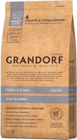 Grandorf (Гандорф) Rabbit & Potato 12 кг Корм для собак с кроликом