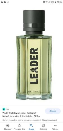 Perfumy LEADER oriflame 100 ml