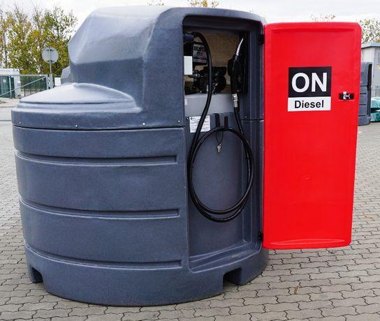 Zbiornik dwupłaszczowy paliwa paliwo olej napędowy 2500L NM