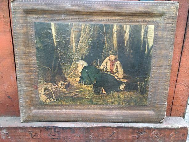 Картина «Птицелов» художник П.Г. Перов