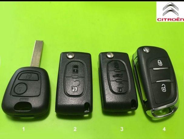 Ключ CitroenPEUGEOT 207 307 407 308 607 Пежо Партнер,Expert,J5