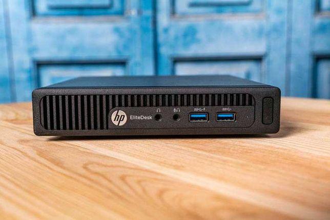 Неттоп HP 4 ядра AMD A12-8800B / 8 DDR3 / SSD 120 / Windows 10 / wi-fi