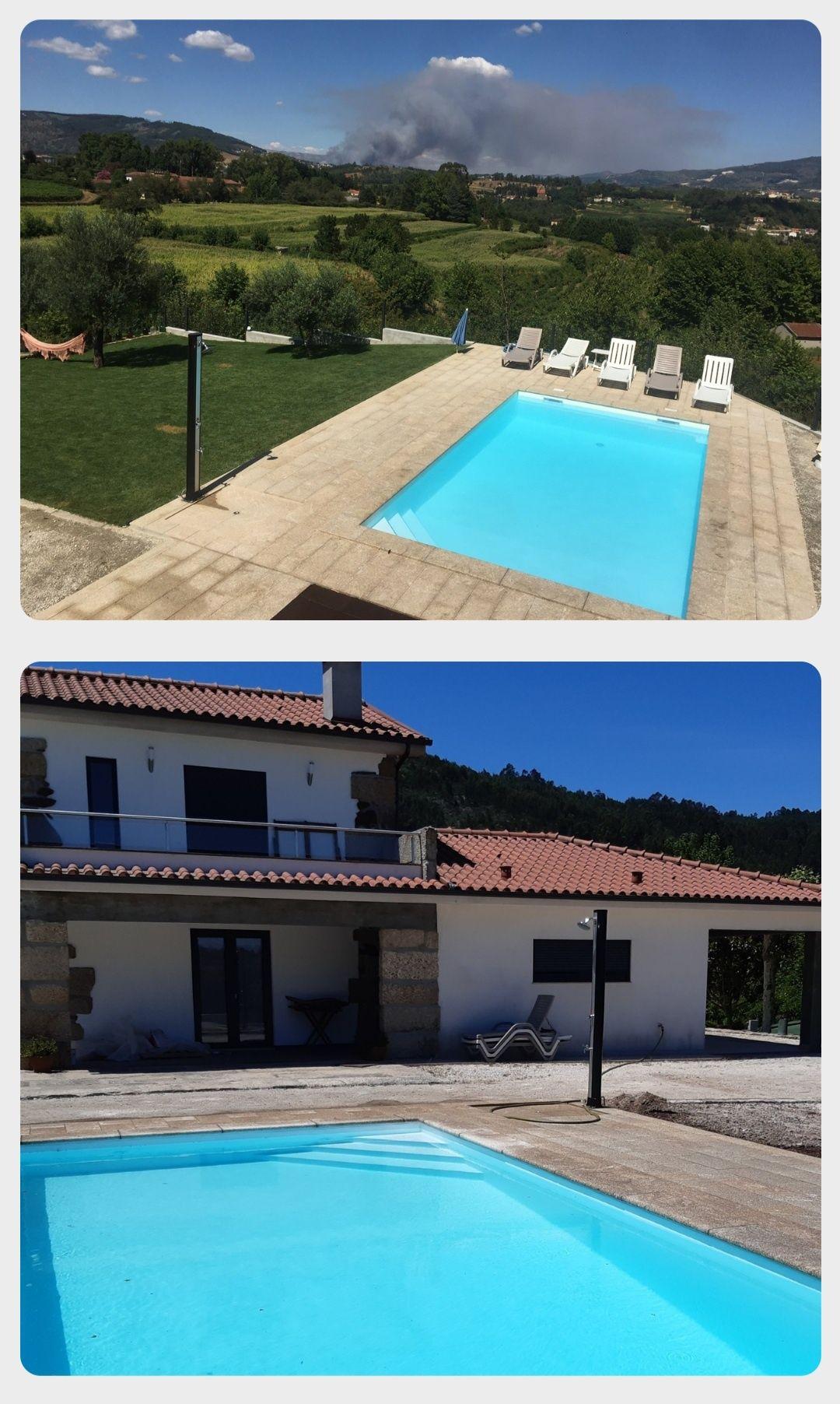 Casa (T2+1) c\ Piscina Privada Luxo, 100 euros/noite  Celorico Basto