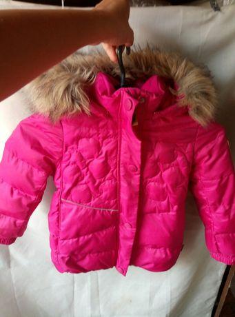Reima 104 зимний пуховик куртка курточка