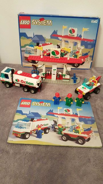 Lego 6562 Gas Stop Shop Octan