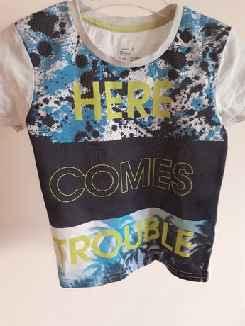T-shirt dla chłopca Rebel