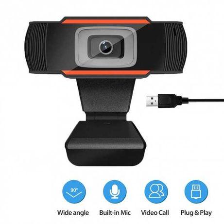 Веб-камера с гарнитурой F37, Web camera с микрофоном, web камера