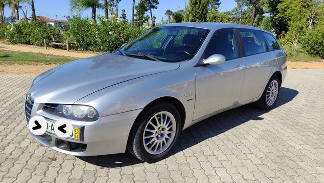 Alfa 156 TS 1.6 GIUGIARO Gasolina 2005 Nacional Troca