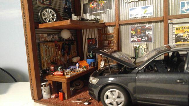 Diorama garaż 3d prezent AUDI Q5