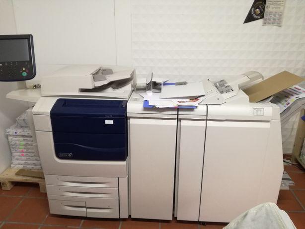 Xerox 550 + Fiery interno + Finalizador +Bandeja receptora electrónica