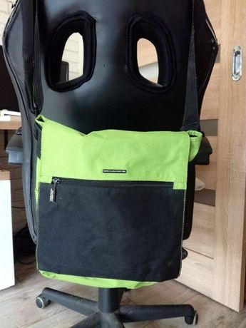 BENETTON zielona torba