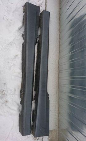 Bmw e92 e93 Coupe Listwy Progowe Nakładki Parkling Graphite Metallic
