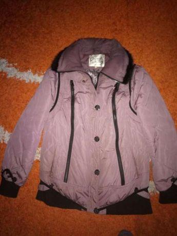 Женская куртка, теплая